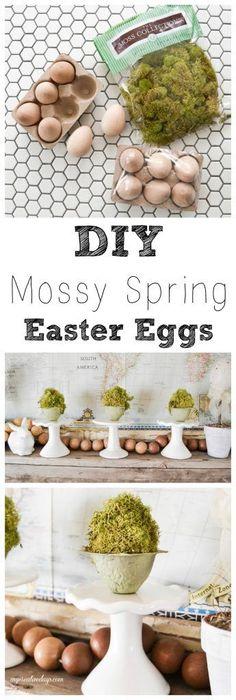 DIY Mossy Spring Eas