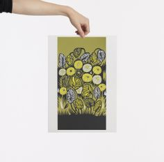 Love this! Image of YELLOW JUNGLE PRINT by Petra Borner