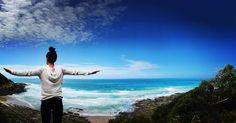 Spreading my wings   #lornebeach #lorne #sea #beachlife #lifesabeach #beach #waves #summer #bluewater #surf #australianbeaches #camping #camp #nature #outoors #nature #outdoors #bluesky #free #greatoceanroad #coastline #foam #hike #hiking #fun #relax #timeaway #holidays by stephaniekyriakidis