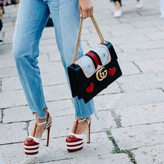 @gucci shoes&bag from #milanfashionweek photo by @sandrasemburg @vogueparis #style#styling#accessorysalad#street#streetstyle#fashion#denim#cool#moda#shoes#loveit#streetlook#sexy#instyle#tagsforlikes#luks#followme#luxury#blogger#fashionweek#luxurystyle#luxuryfashion#gucci#guccibag#guccishoes#heels#lips#ss17#mfw