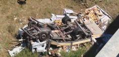 Violento impatto sull' A19,  morti padre e figlio