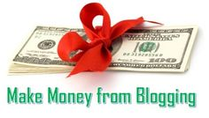 Many online users wants to know about How to make money from blogging. For those people here we detailed the best four ways to earn money by blogging even