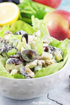 Sałatka Waldorf. Waldorf salad.