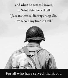 for all who had served!!