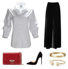 Designer Clothes, Shoes & Bags for Women Holiday Party Outfit, Holiday Parties, David Yurman, Missoni, Cartier, Valentino, Christian Louboutin, Outfit Ideas, Shoe Bag