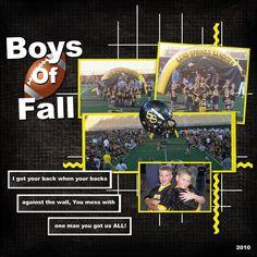 Boys of Fall - Scrapbook.com