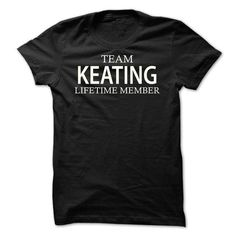 Team Keating - #gift for women #man gift. CHECKOUT => https://www.sunfrog.com/Names/Team-Keating-nqnam.html?68278