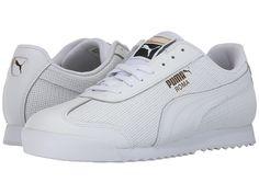 PUMA PUMA - ROMA CLASSIC PERF (PUMA WHITE PUMA TEAM GOLD PUMA WHITE) MEN S  SHOES.  puma  shoes   3d4524008