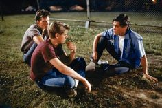 The Curtis Brothers from The Outsiders ❤ The Outsiders Quotes, The Outsiders 1983, The Outsiders Sodapop, 80s Movies, Good Movies, I Movie, Ralph Macchio, Darry, Lets Do It