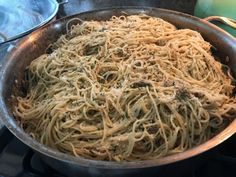 Old-fashioned Linguine with White Clam Sauce