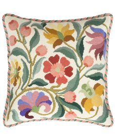 Needlepoint kits from Beth Russell based on William Morris designs Needlepoint Pillows, Needlepoint Kits, Hand Embroidery Patterns, Cross Stitch Embroidery, Cross Stitch Designs, Cross Stitch Patterns, Tapestry Kits, Cross Stitch Flowers, Basket Weaving