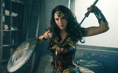 Actress Gal Gadot as Wonder Woman in upcoming film