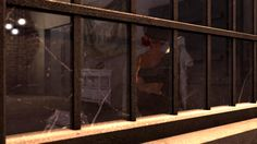 https://flic.kr/p/WDfDTD | Dirty window | Photo taken at Binemust, which is kinda Binemist II: maps.secondlife.com/secondlife/Binemust/131/155/717