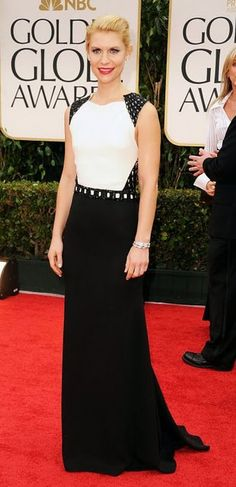 Claire Danes- love black and white