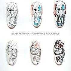 Natural Nail Designs, Natural Nails, Art Lessons, Make Up, Nail Art, Create, Spring, Painting, Nail Art Designs