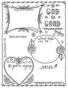40 PRINTABLE TEMPLATES for bible journaling verse art