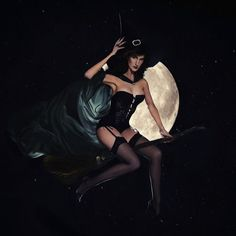 Christine McConnell's #Halloween #Costume Photography is Subtly Sensual trendhunter.com