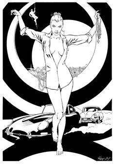 Diabolik Astorina Riccardo Nunziati Diabolik, Comic Books Art, Comic Art, Jaguar, Comics Girls, Pulp Art, Art Challenge, Illustrations And Posters, Rogues