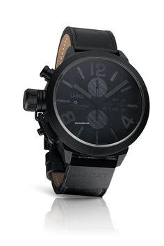 U-Boat - Classico Herrenuhr Chronograph (Carbon Black) ($3000)
