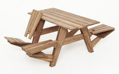 Another picnic table' by wouter nieuwendijk and jair straschnow in 100 Creative Furniture: Reloaded