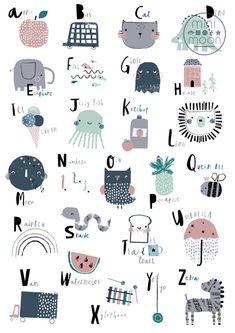 print & pattern: KIDS DESIGN - mini moon