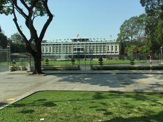 The Independence Palace, also known as the Reunification Palace stands in Ho Chi Minh City. It served as the home and workplace for the President of South Vietnam during the Vietnam War. In 1975, a North Vietnamese army tank crashed through the palace to mark the Fall of Saigon at the end of the Vietnam War. The palace is built on the same site where the Norodom Palace once stood, which was built by the French during their occupation of Vietnam in the 1860's. South Vietnam, Vietnam War, North Vietnamese Army, Reunification, Photo Journal, Ho Chi Minh City, Rest Of The World, Workplace, Palace