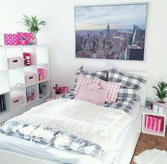 Image via We Heart It #art #colorful #cute #design #girl #love #pink #room