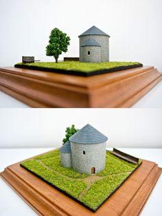 Rotunda Ducové 1:200 | Rotunda Ducové 1:200 #3dprinting #architecture