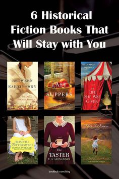 These recommended historical fiction books are worth reading next.  #books #historicalfiction #reading