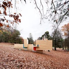Gallery of Five Fields Play Structure / Matter Design + FR|SCH - 15
