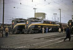 PRR 4893 Pennsylvania Railroad GG-1 at Philadelphia, Pennsylvania by John Dziobko www.godfatherrails.com