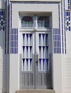 door Architect Otto Wagner's Modernist Marvels in Vienna