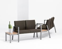 Find solace in Haven, a comprehensive offering of guest, tandem and ancillary seating products that combine classic style with noteworthy substance. With recoverable upholstery capabilities and clean-out functionality, Haven is ideal for healthcare applications.