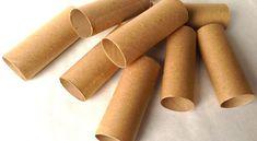 Organiser l'atelier ou le coin bricolage facilement à partir de rouleaux de papier hygiénique!