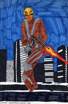 Julie Howlin Ultraheroes Art Kestrel