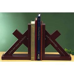 """Wisdom and Knowledge"" Bookends on SonGear.com"