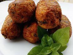 Croquetes de Couve-Flor e Farelo de Pão (vegana)