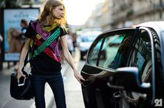 Nice Cars girly 2017: Alexandra Elizabeth Ljadov | Paris...  STREET MODE Check more at http://autoboard.pro/2017/2017/08/12/cars-girly-2017-alexandra-elizabeth-ljadov-paris-street-mode/