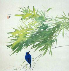 Takeuchi Seiho 竹内 栖鳳 (1864-1942).