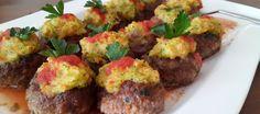 Hasanpaşa Köfte | Yıldırım Hotel Baked meatballs with mashed potatoes on top!