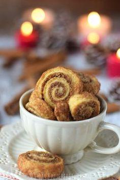 Haselnuss-Zimt-Bällchen & Zimtschnecken - Hazelnut Cinnamon and Cinnamon Roll Cookies | Das Knusperstübchen