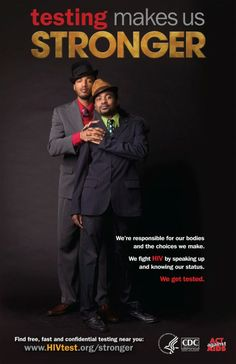 2011. The first national HIV Testing campaign in the United States targeting Black MSM.  #Aids #HIV #Sida