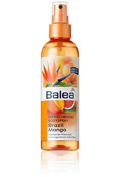 Balea Bodylotion Brazil Mango - riecht fantastisch und ist super erfrischend im Sommer