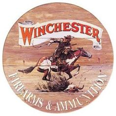 TIN SIGN Winchester Express , 12x12