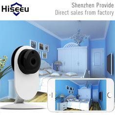 Mini Wifi IP Camera Wireless 720P HD Smart Camera Baby Monitor CCTV Security Camera Home Protection Mobile Remote Cam Hiseeu FH7