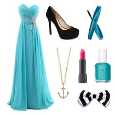 """""""Sea themed party"""" by directionersrule2003 ❤ liked on Polyvore"""