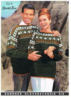 Norwegian Knitting, Drops Design, Sweater Weather, Ravelry, Christmas Sweaters, Wool, Womens Fashion, Retro, How To Wear