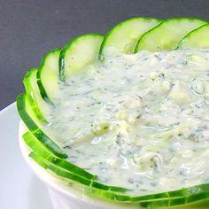 One Perfect Bite: Feta and Cucumber Dip