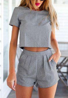 É básico, é chique, é cinza #Short