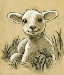 Really want a tattoo of a lamb or sheep of some sort with Luke 15 which is the parable of the lost sheep, one of my favorite stories in the bible Animal Sketches, Animal Drawings, Art Drawings, Tattoos Skull, Animal Tattoos, Horse Tattoos, Wing Tattoos, Sleeve Tattoos, Lamm Tattoo
